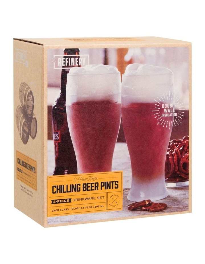 Beer Glass Pint Cooling 2pc image 1
