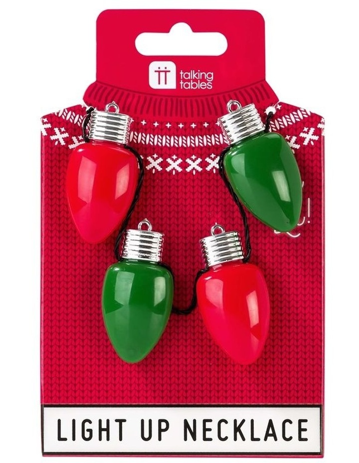 Christmas Light Up Necklace image 1