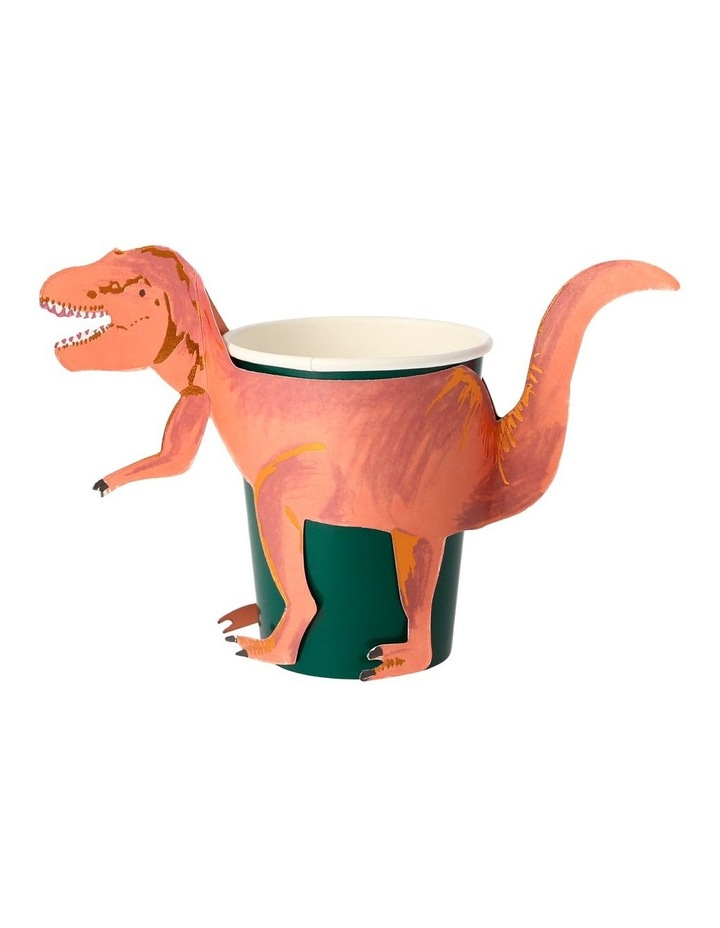 Dinosaur T Rex Party Cups image 1