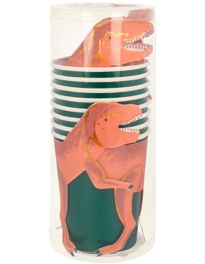 Dinosaur T Rex Party Cups image 2