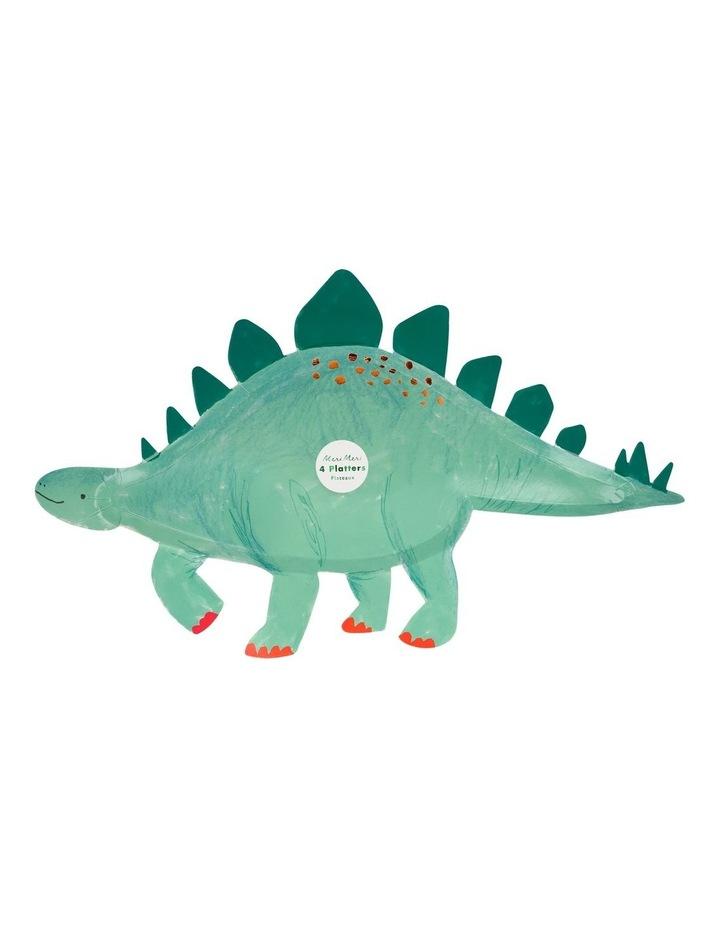 Dinosaur Stegosaurus Platters image 1