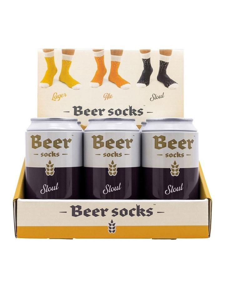 Luckies Beer Socks - Stout image 1