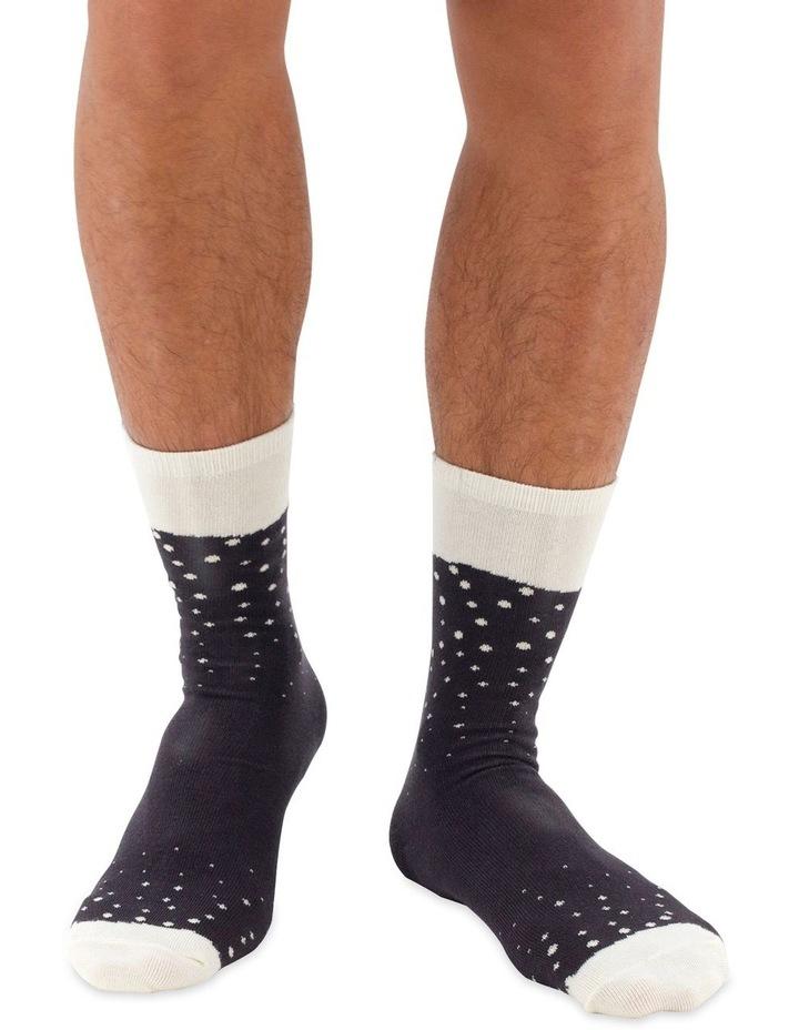 Luckies Beer Socks - Stout image 4