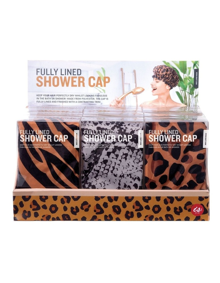 Shower Cap - Animal Print image 1