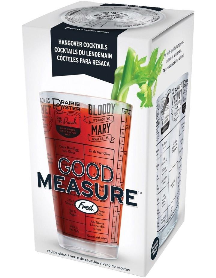 Fred Good Measure Hangover Recipe Glass image 1