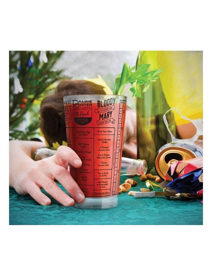 Fred Good Measure Hangover Recipe Glass image 4