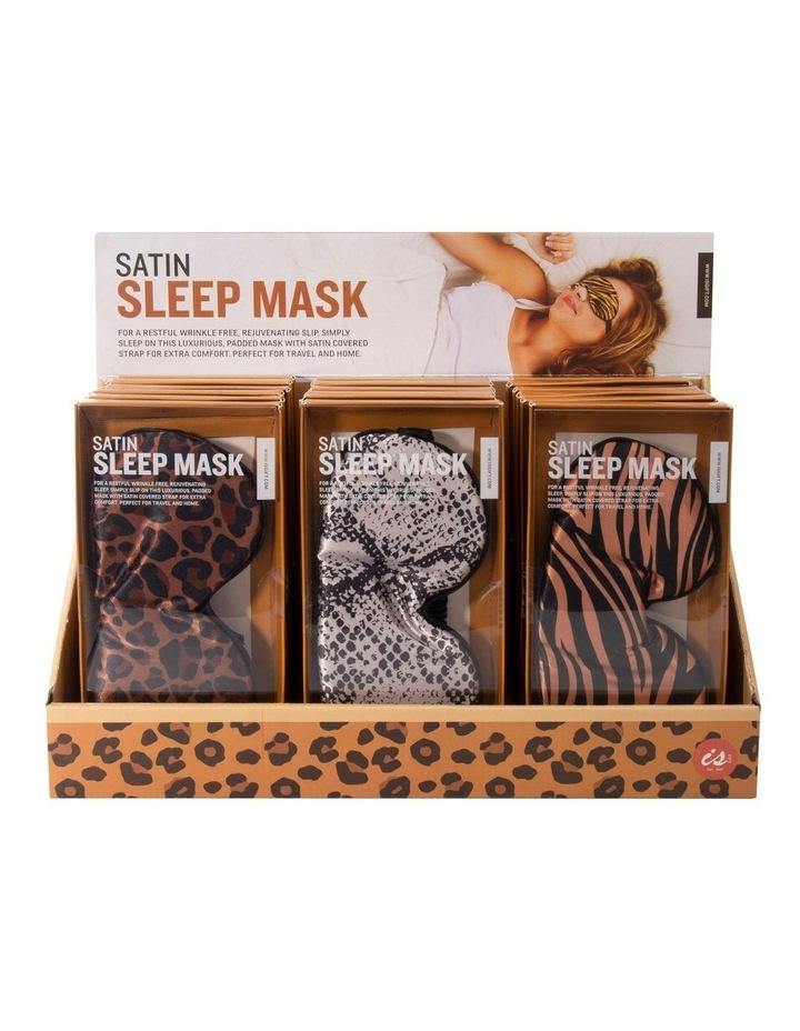 Satin Sleep Mask - Animal Print image 1