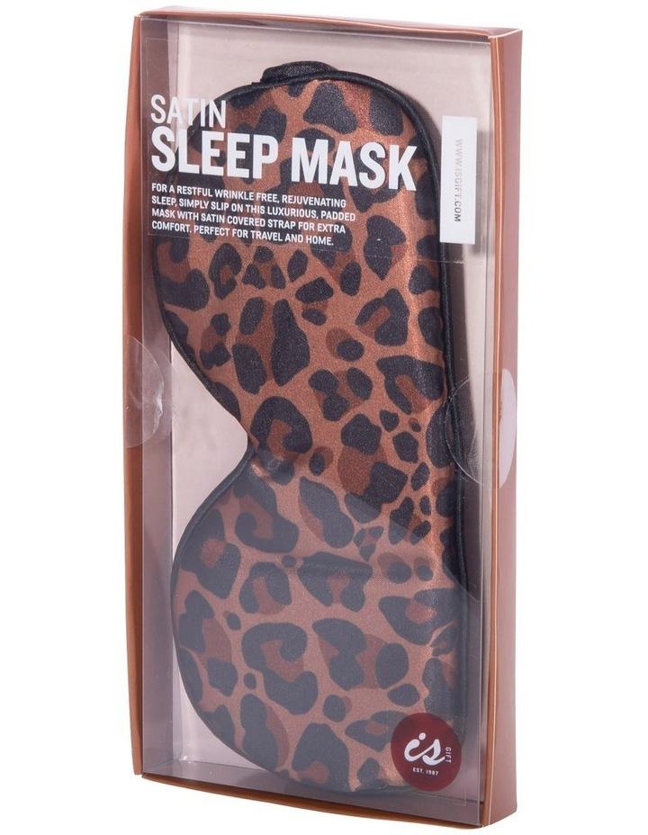 Satin Sleep Mask - Animal Print image 3