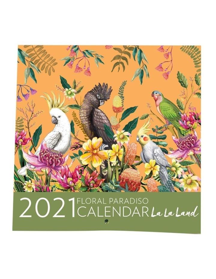 2021 Floral Pardiso Calendar image 1