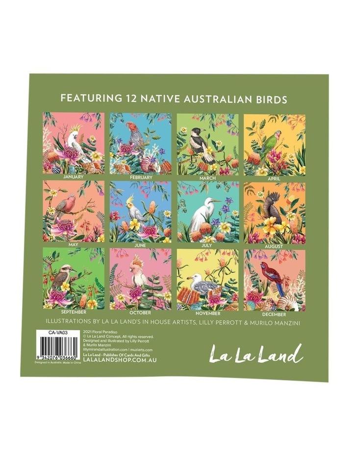 2021 Floral Pardiso Calendar image 2