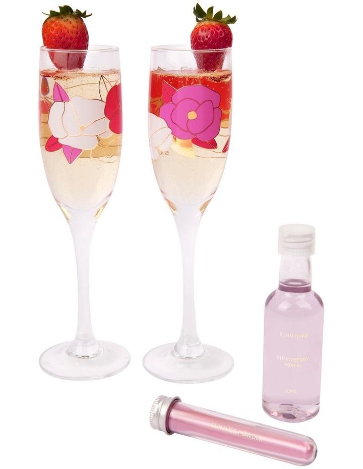 Champagne Gift Set Wild Posy image 2