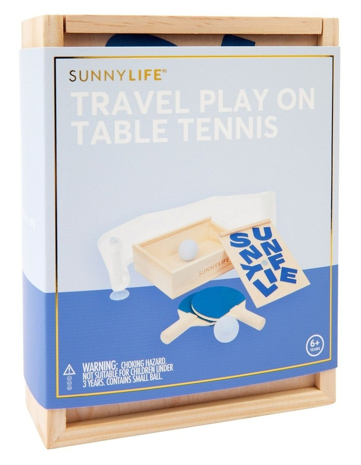 Travel Play On Table Tennis image 2