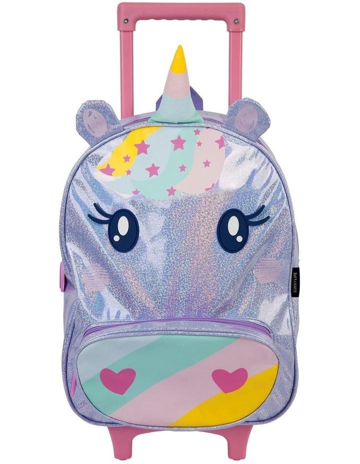 Unicorn Kids Rolling Luggage image 1