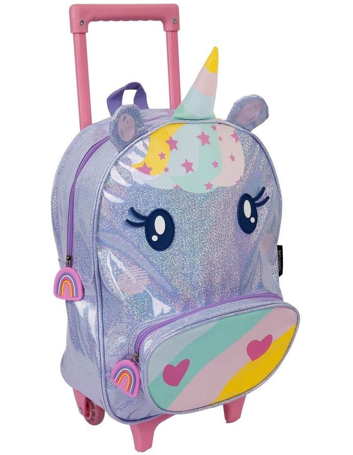 Unicorn Kids Rolling Luggage image 2