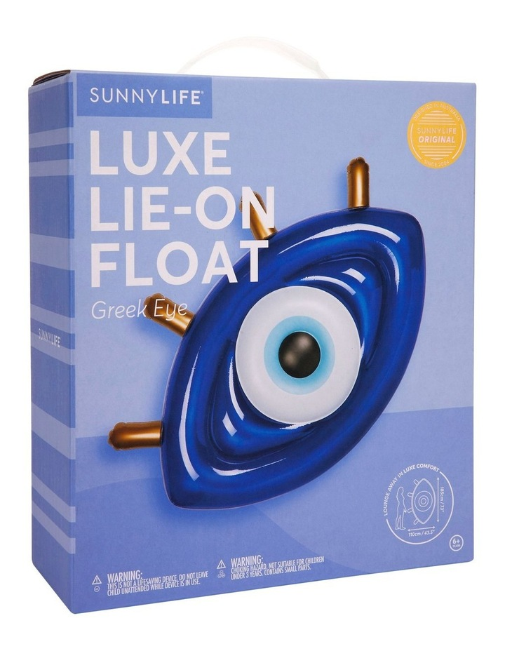 Luxe Lie-On Float Greek Eye image 3