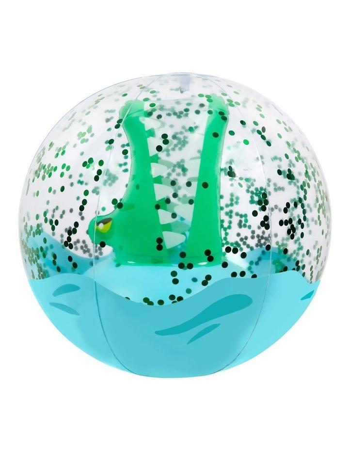 Croc 3D Inflatable Beach Ball image 1
