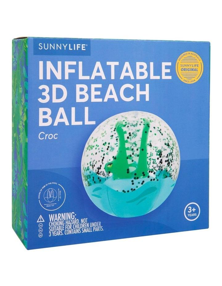 Croc 3D Inflatable Beach Ball image 2