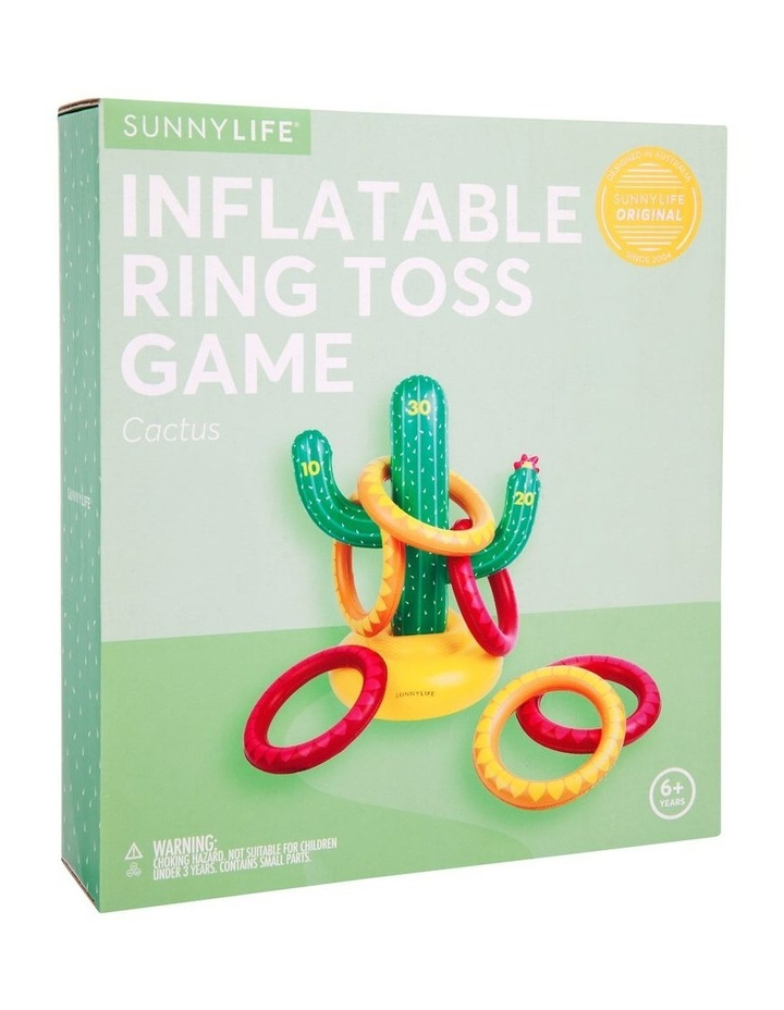 Inflatable Ring Toss Game Cactus image 4
