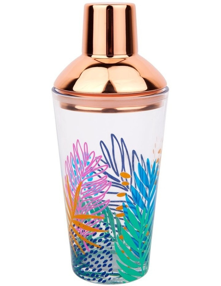Luxe Shaker & Glass Set Electric Bloom image 1