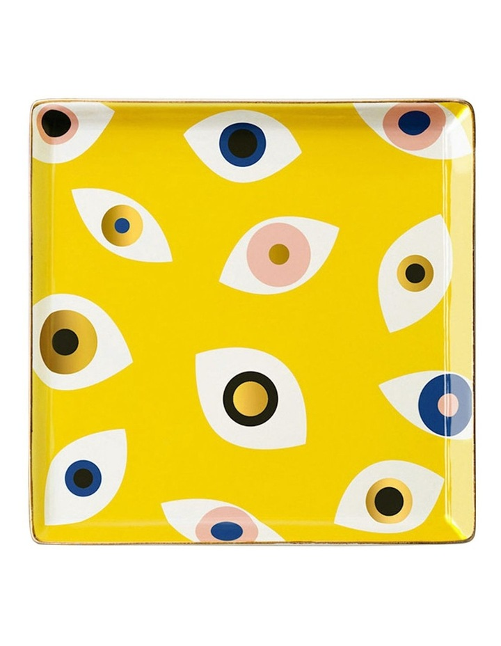 Ceramic Tray Nazar Yellow image 1