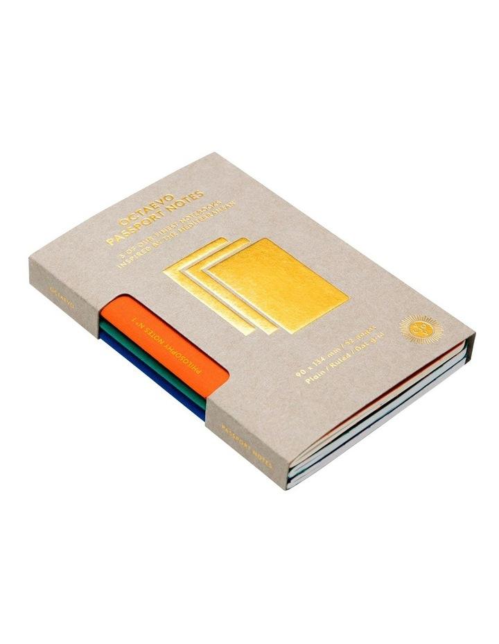 Passport Philosophy Notes - Set of 3 Notebooks - Assorted Designs image 2