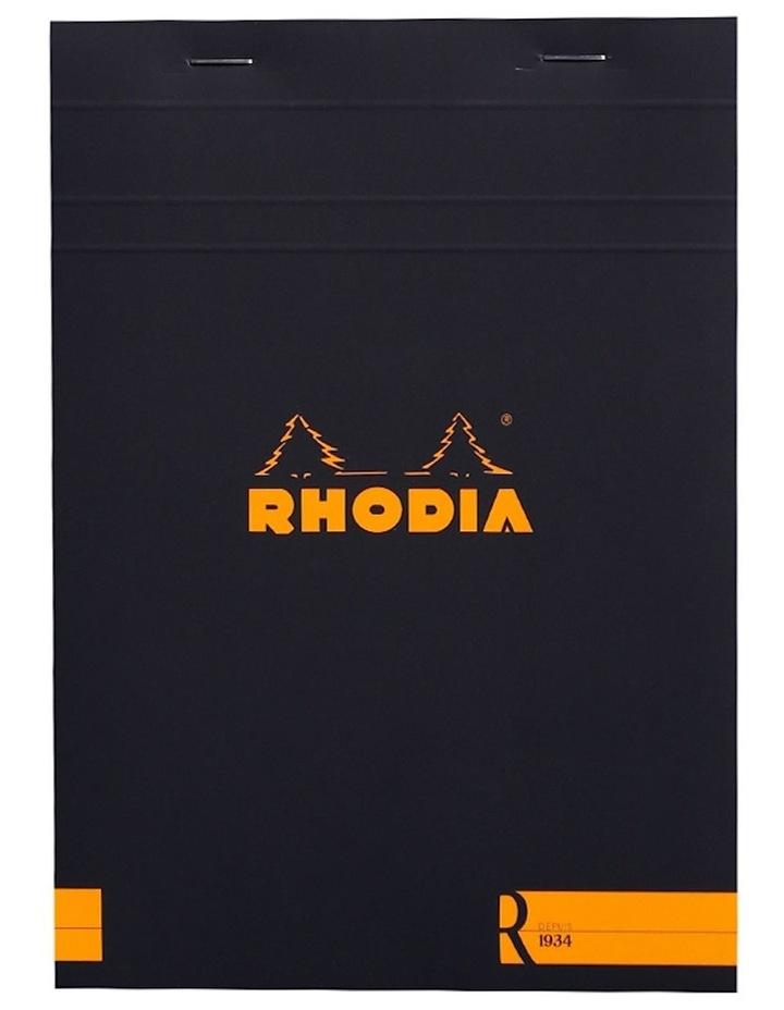 Premium 'R' Pad #16 - Ruled - A5 - Black image 1