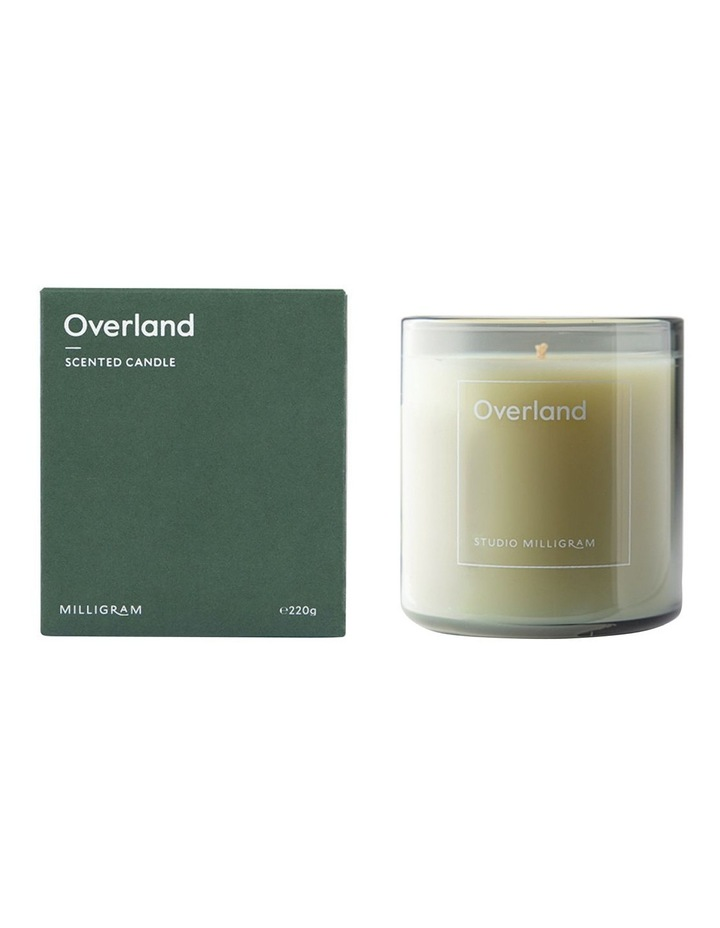 Sensory Scented Candle Overland 220g image 1