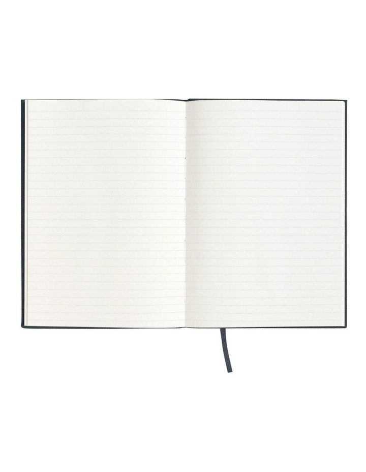 Spenceroni Soft Cover Linen Notebook - Ruled - A5 - Green image 2