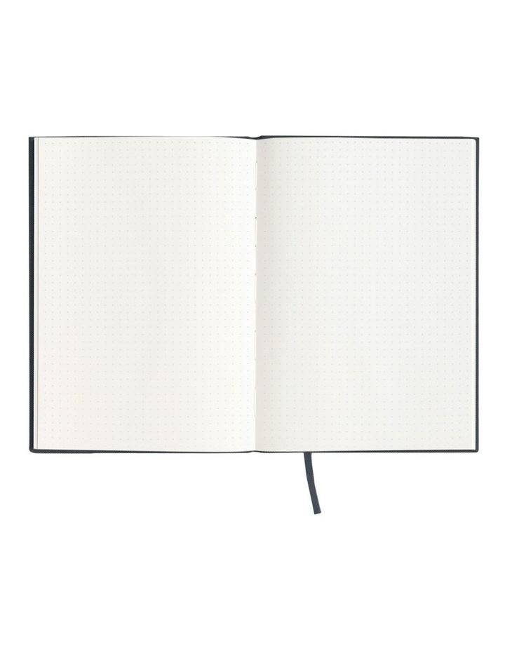 Spenceroni Soft Cover Linen Notebook - Dot Grid - A5 - Burgundy image 2