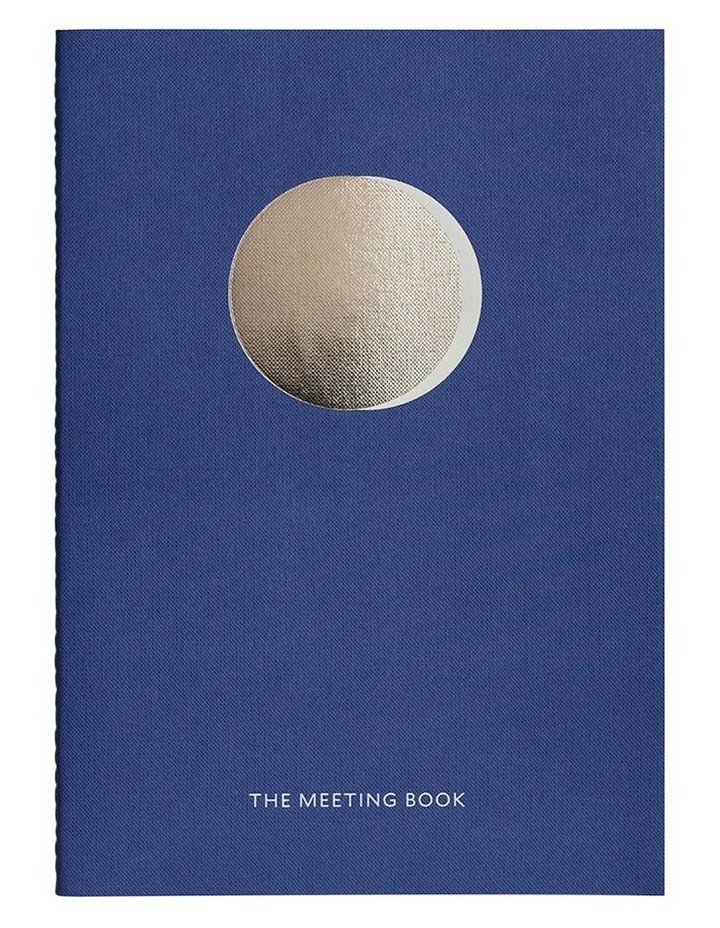Organisation Notebook - The Meeting Book - Blue image 2
