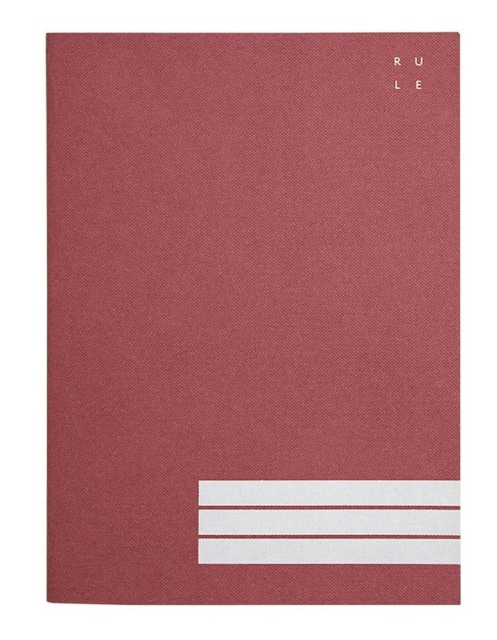 Everyday Notebook - Ruled - A5 - Burgundy image 2