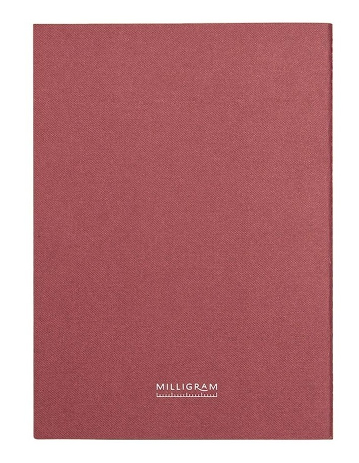 Everyday Notebook - Ruled - A5 - Burgundy image 6