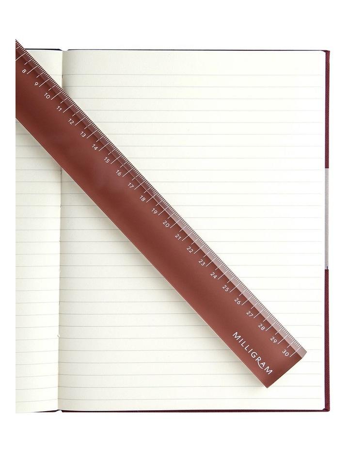Spenceroni Acrylic Ruler - Burgundy image 2