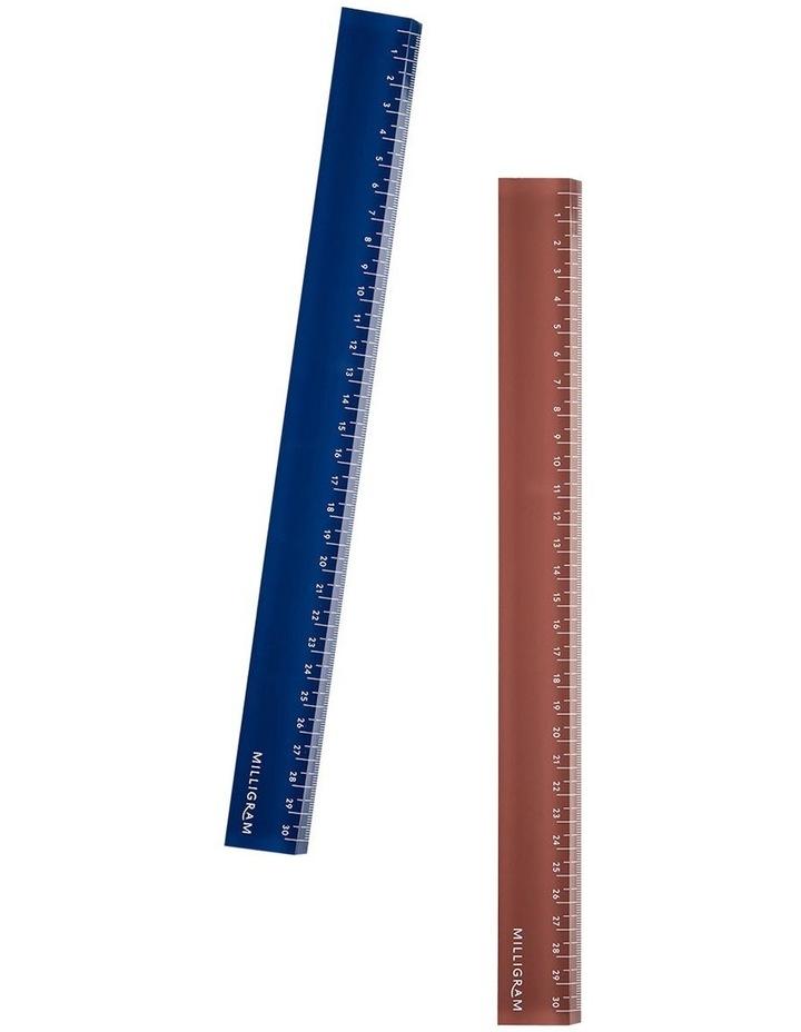 Spenceroni Acrylic Ruler - Burgundy image 3