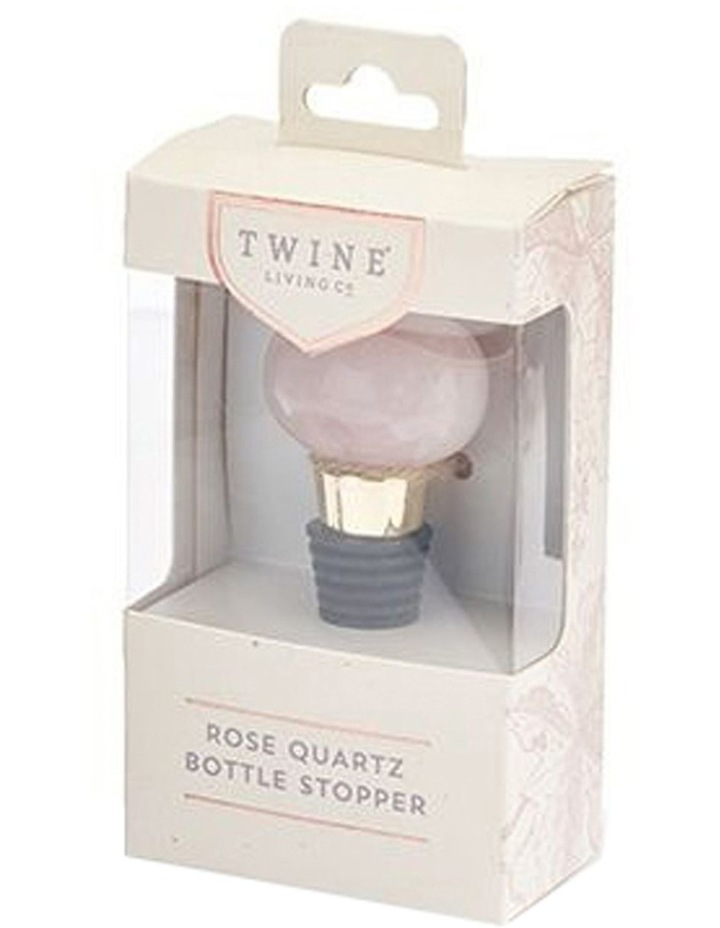 Rose Quartz Bottle Stopper by Twine image 3