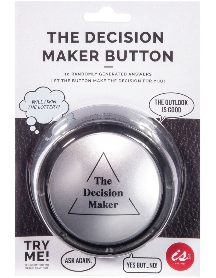 The Decision Maker Button image 1