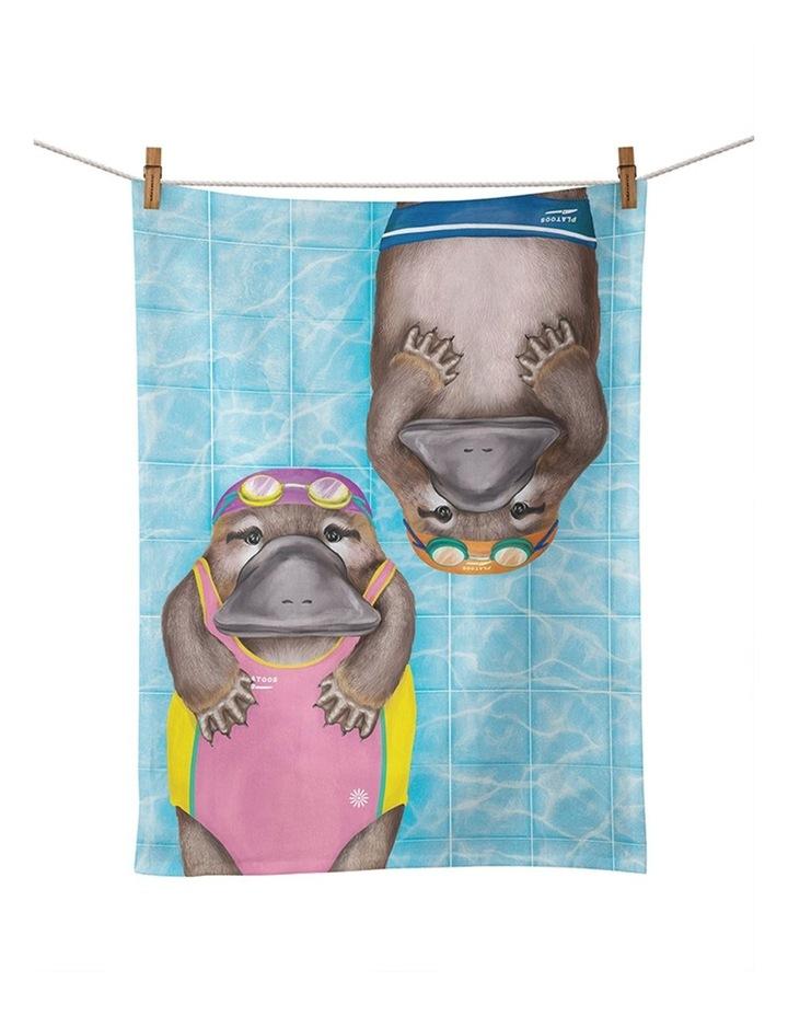 Tea Towel Aussie Aussie Aussie Swimming image 1
