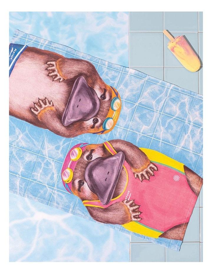 Tea Towel Aussie Aussie Aussie Swimming image 2