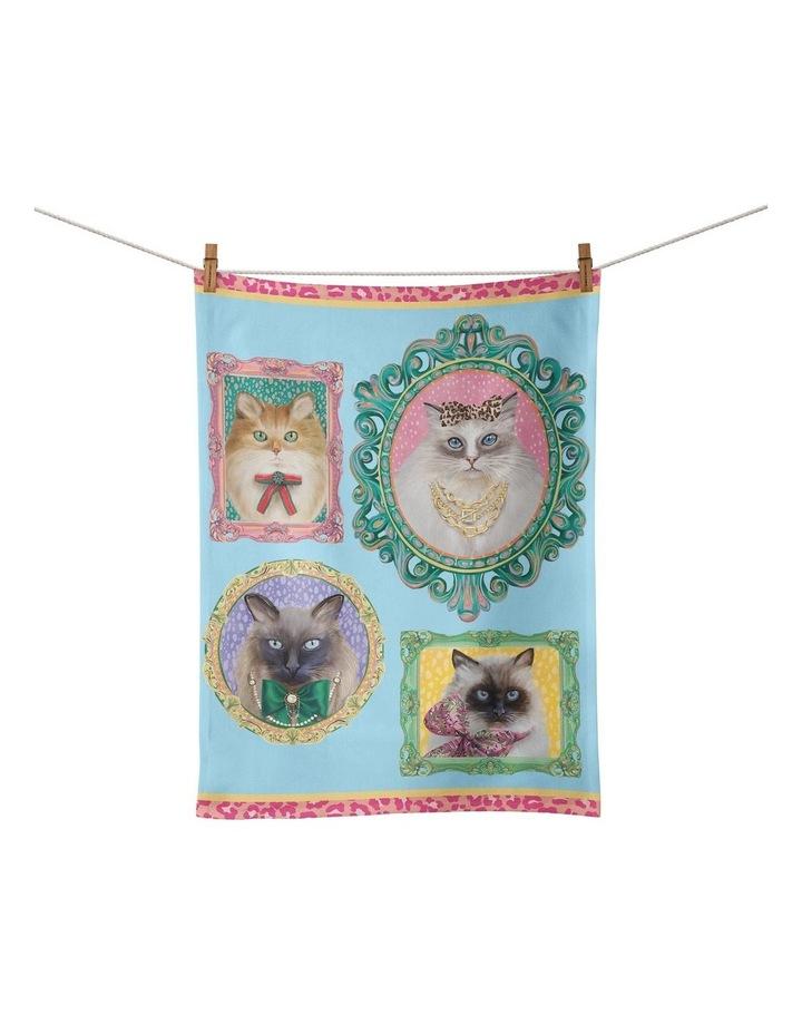 Tea Towel Bougie Pussy Society image 1