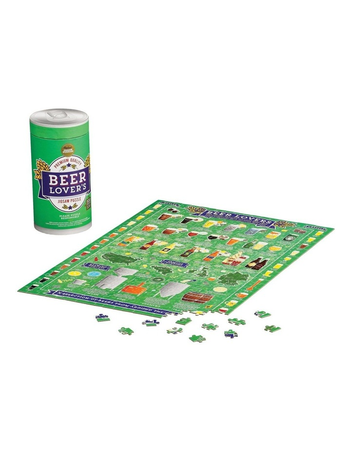 Beer Lover's 500 Piece Jigsaw Puzzle image 3