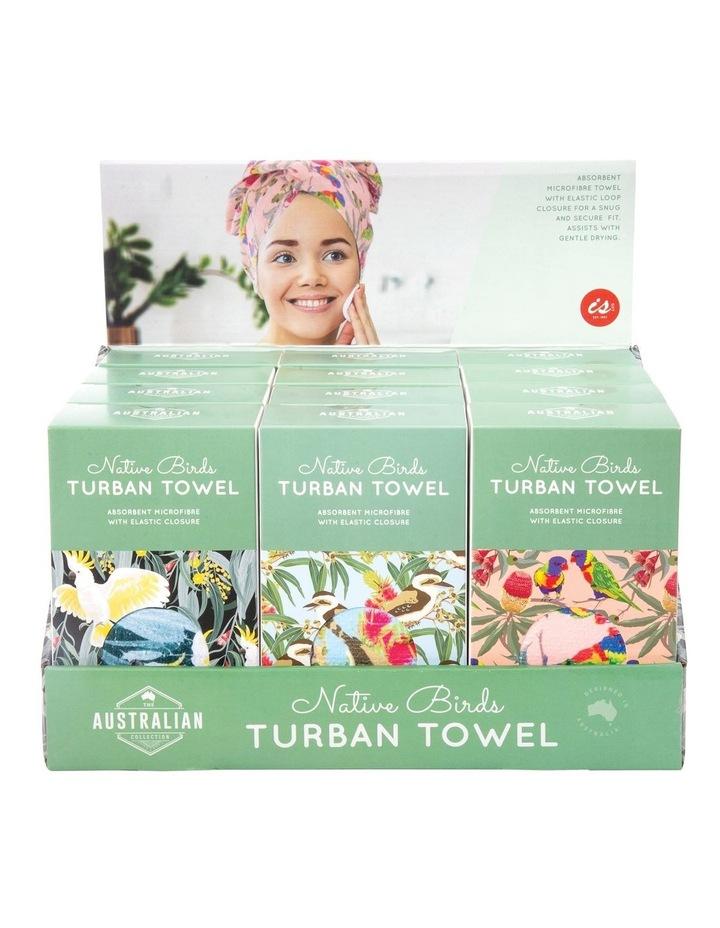 Aus Collection Turban Towel - Birds - Assortment image 1