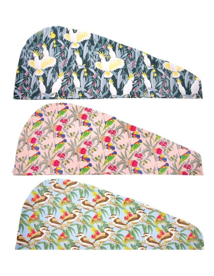 Aus Collection Turban Towel - Birds - Assortment image 4