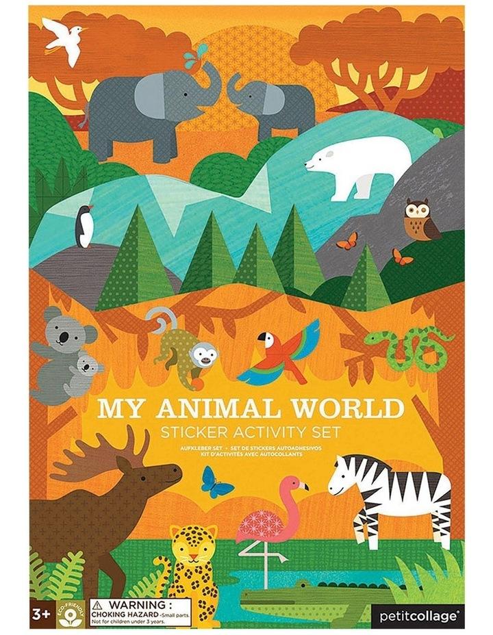 My Animal World Sticker Activity Set image 1