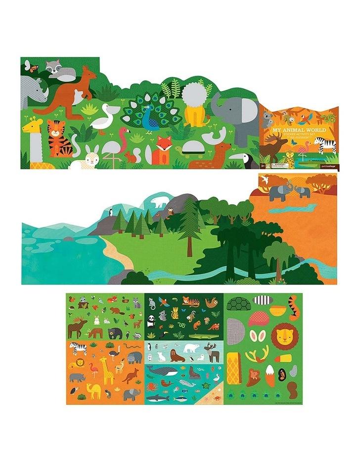 My Animal World Sticker Activity Set image 2