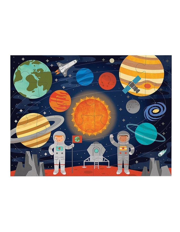 Outer Space Floor Puzzle image 1