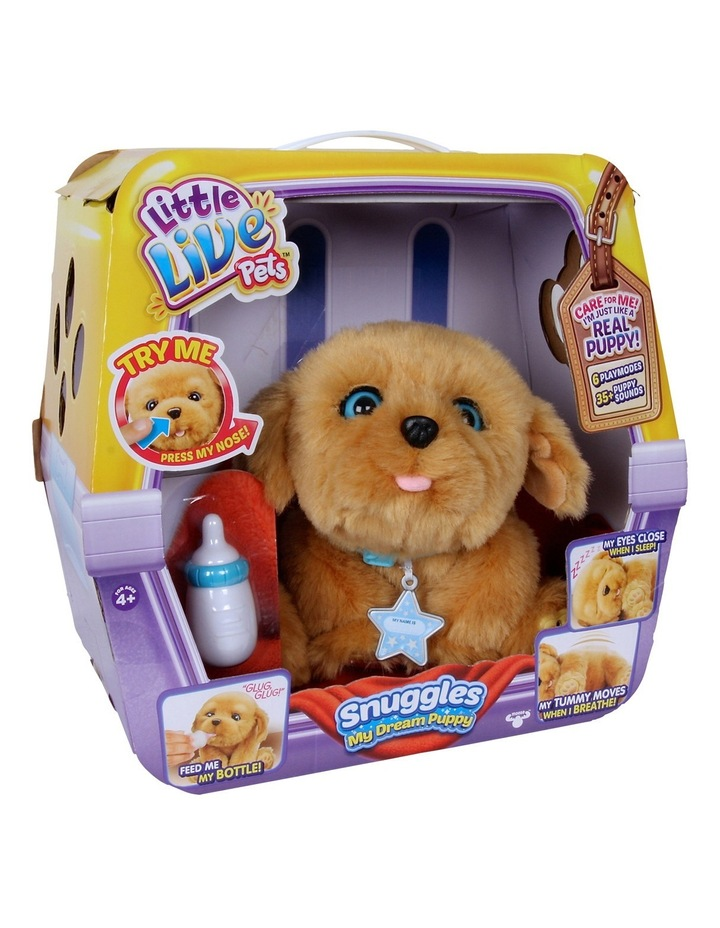 6b1f8ecf86ea Little Live Pets | Snuggles - My Dream Puppy | MYER