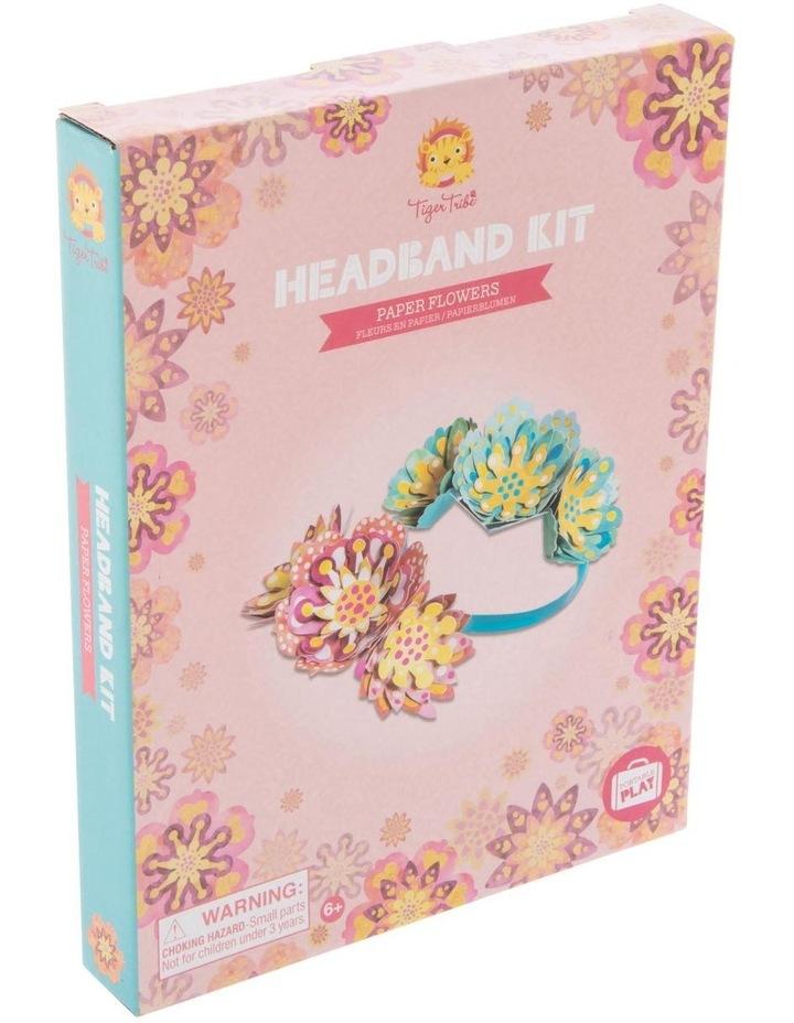 Headband Kit - Paper Flowers image 1