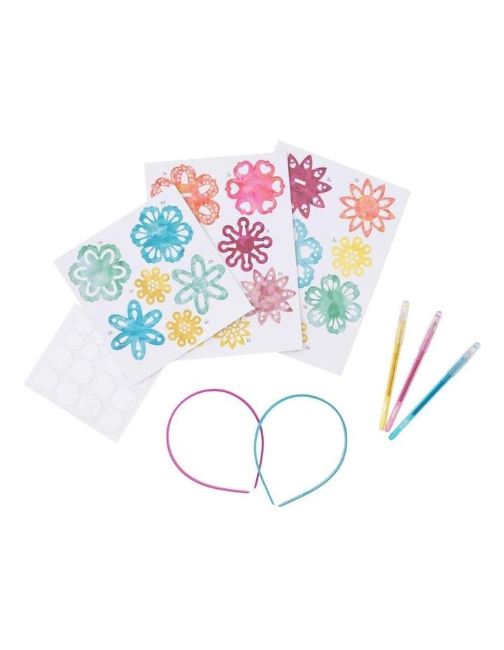 Headband Kit - Paper Flowers image 3