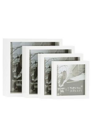 Vue | Nested 4 in 1 Photo Frame White | Myer Online