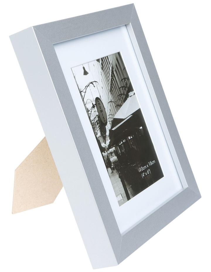 Essence 10 x 15 cm Matt Board Photo Frame Silver image 2